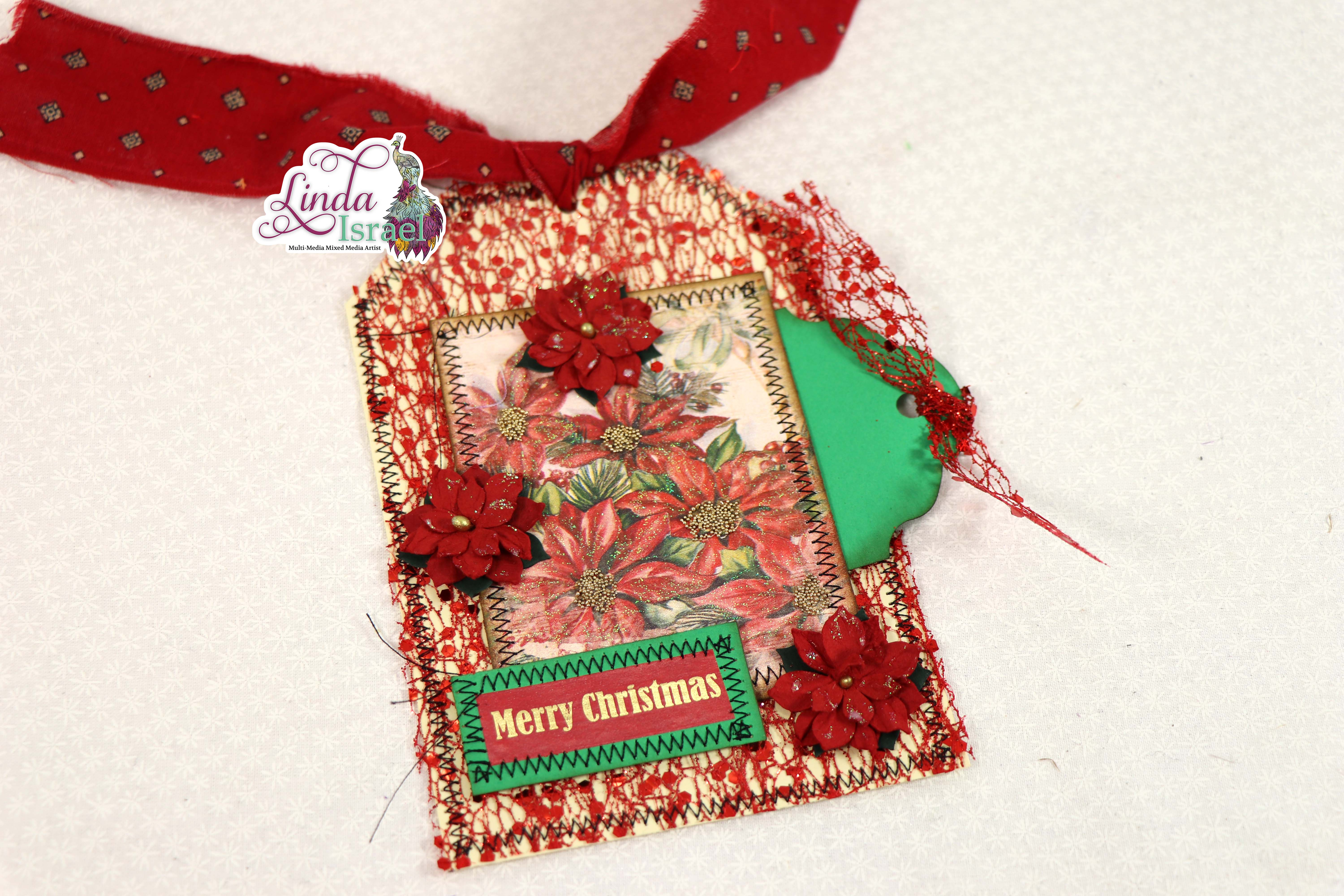 Christmas Tag Tutorial