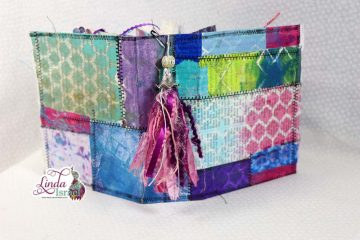 Gel Print Embellishment Junk Journal Tutorial