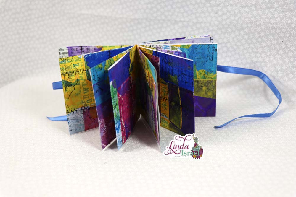 One Sheet Mini Junk Journal Tutorial