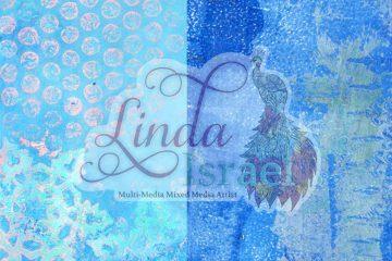 Blue Gel Print freebies for Winter Bliss Subscription Box