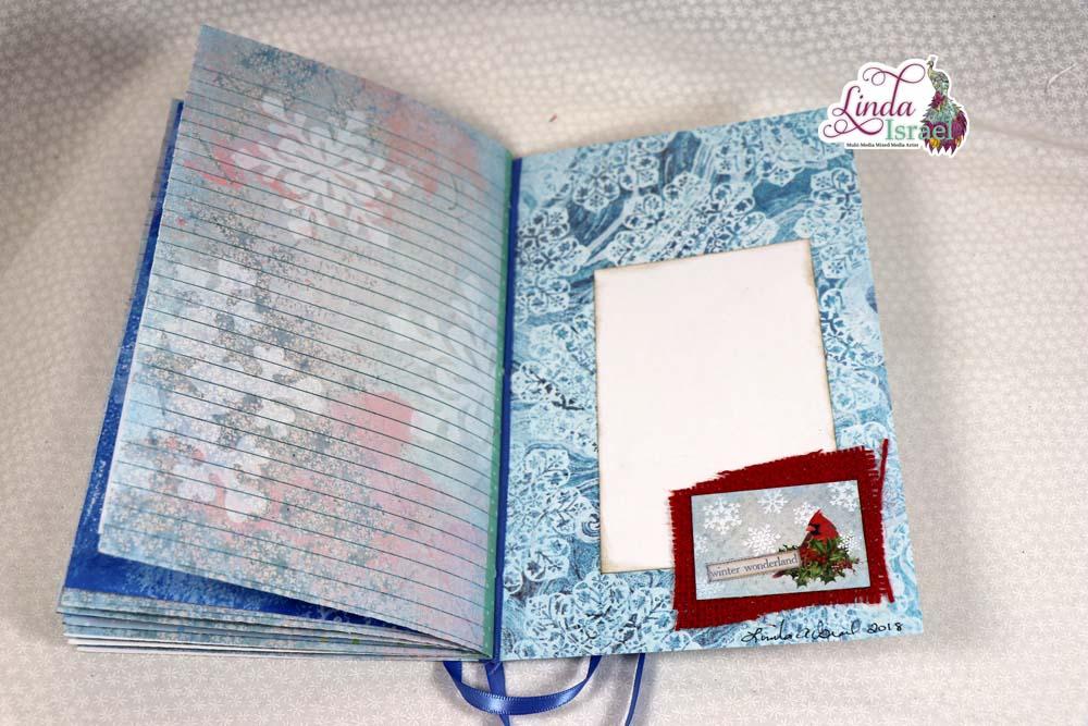 Subscription Box Winter Bliss Junk Journal