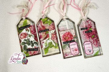 Exquisite Dreamer Junk Mail Tag Tutorial