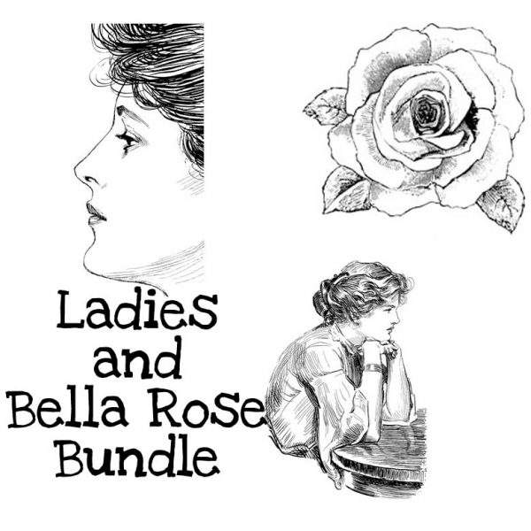 Ladies and Bella Rose Stamp Bundle