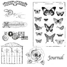 Postcard Garden Stamp Bundle