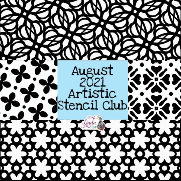 August 2021 Artistic Stencil Club