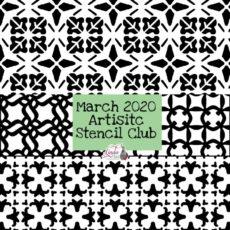 March 2020 Stencil Club