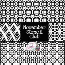 November Stencil Club