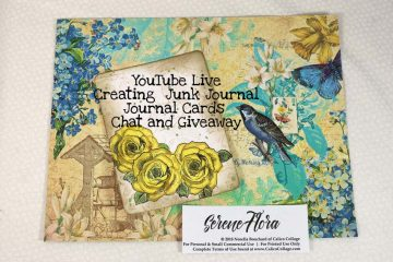Live Using the Serene Flora Journal Kit