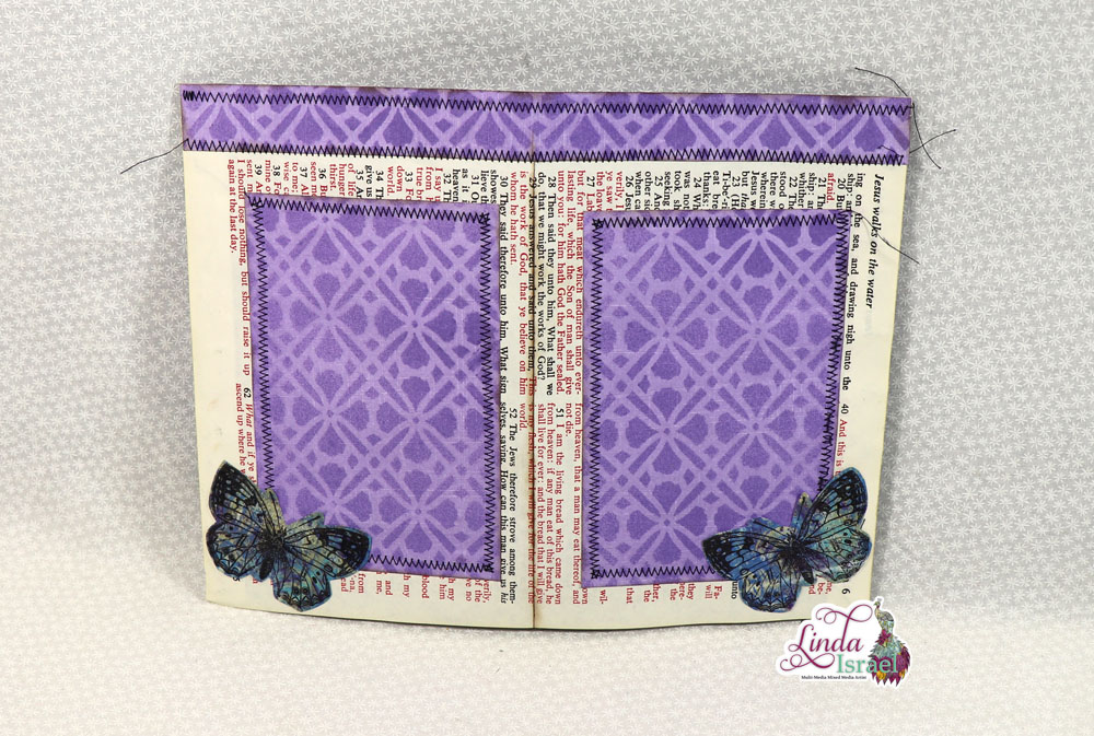 Flip Out Junk Journal Page Tutorial