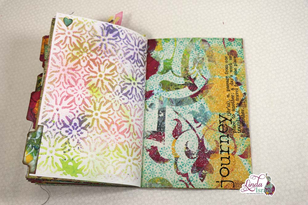 Flip through of Linda's Wisdom Junk Journal