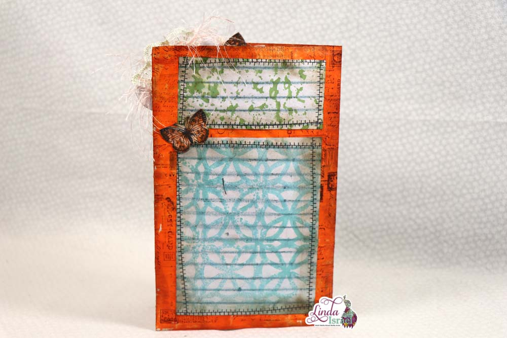 Mixed Media Junk Mail Journal Page Tutorial
