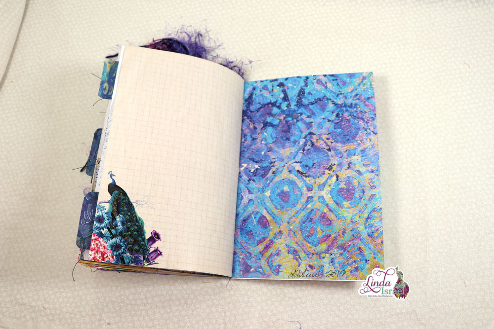 Flip Through of the Royal Peacock Junk Journal