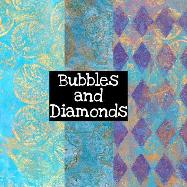 Bubbles and Diamonds Digital Download