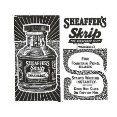 CCA309D Sheaffers Rubber Stamp