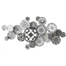 CTM316F Button Collage Rubber Stamp