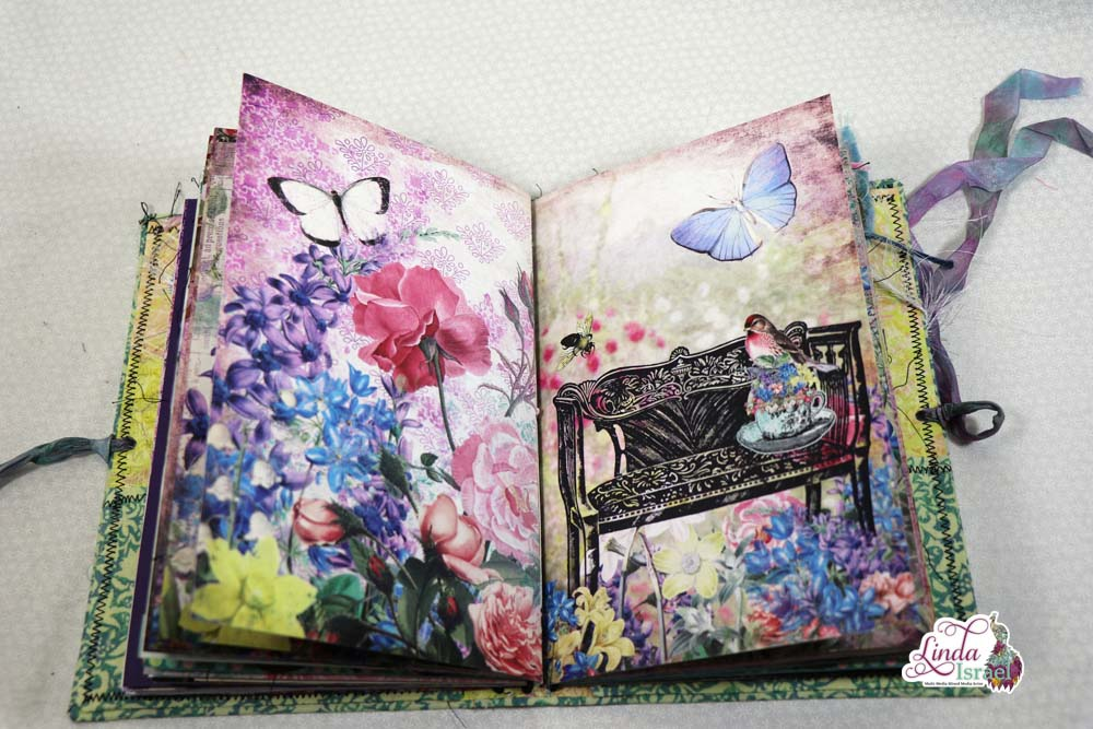 Live Creating a Day Dreaming Junk Journal