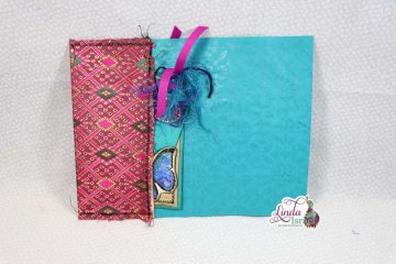 Sari Silk Pocket Journal Page Tutorial