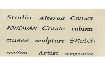 TS221C Artsy Finger Prints Rubber Stamps