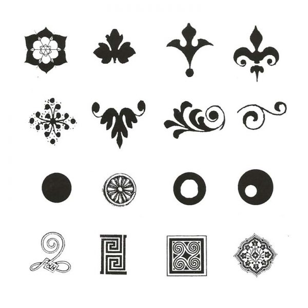 ZTS217C Finger Prints Rubber Stamps
