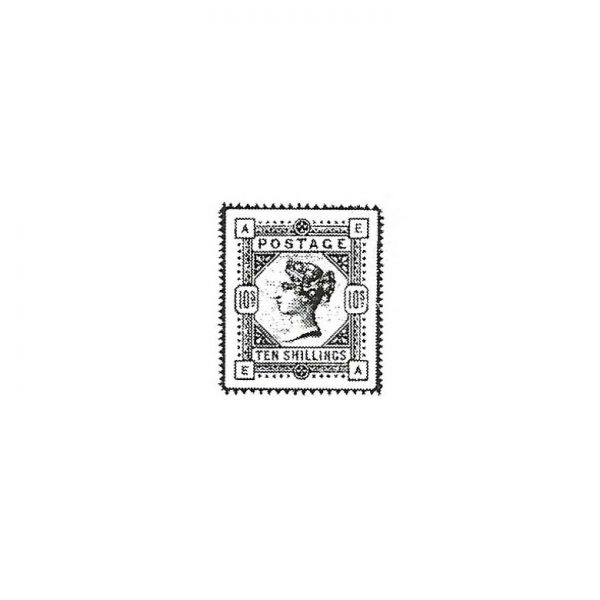 CLF225A Queen's Post Rubber Stamp