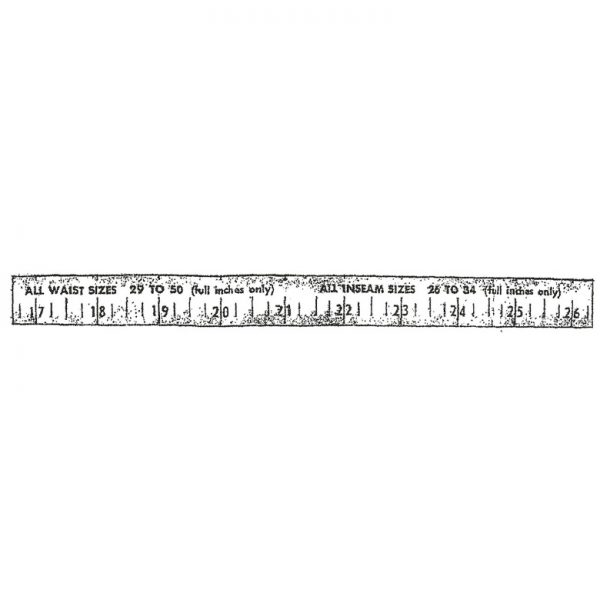 CMU114D Tape Rubber Stamp