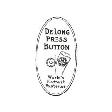 CTM112B De Long Rubber Stamp