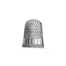 CTM130C Thimble Rubber Stamp