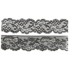 CTM215F Lace Duo Rubber Stamp