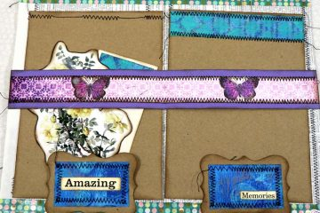 Day Dreaming Junk Journal Page Tutorial Dictionary Page