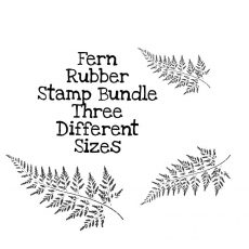 Fern Rubber Stamp Bundle