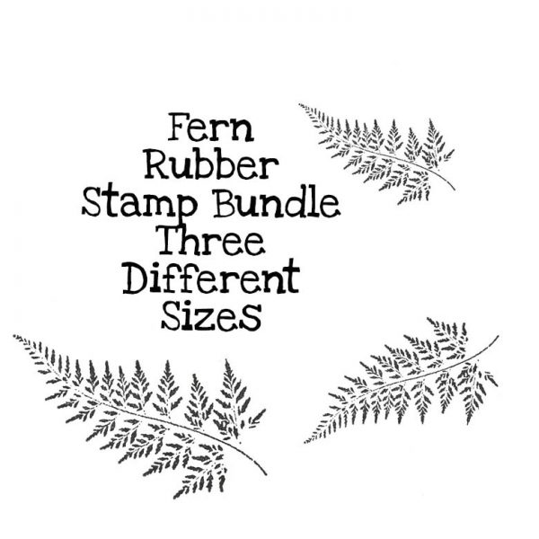 Fern Rubber Stamp Bundle