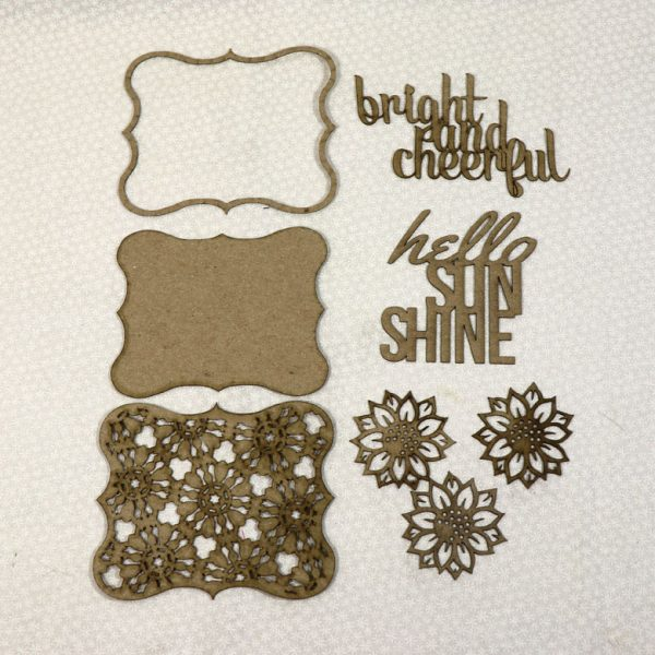 Hello Sunshine Chipboard Set