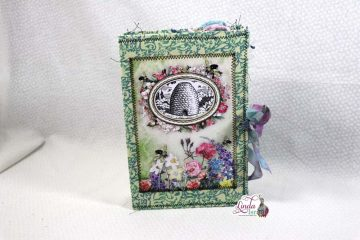 Midori Fabric Junk Journal Cover Tutorial