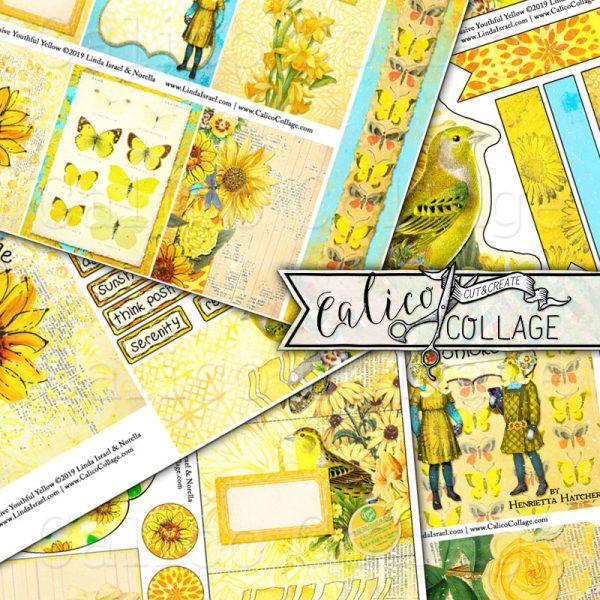 Creative Rainbow Youthful Yellow