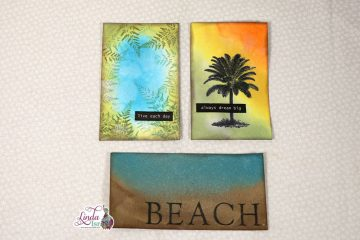 Beach Themed Journal Cards Tutorial