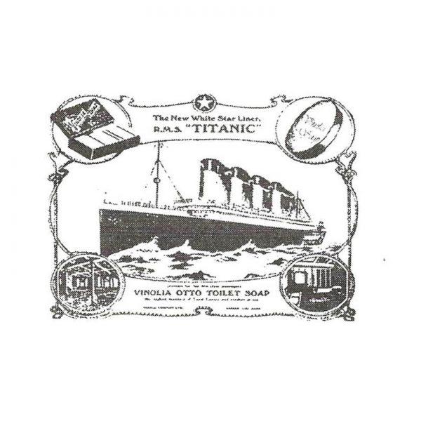 CNA130D Vinolia Rubber Stamp