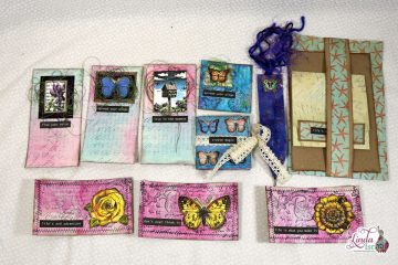 Creating Mixed Media Elements for Junk Journals