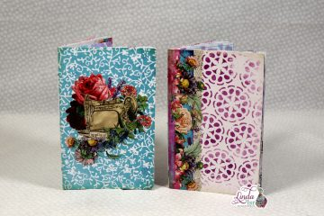 Mini Sew Artsy Junk Journal Tutorial