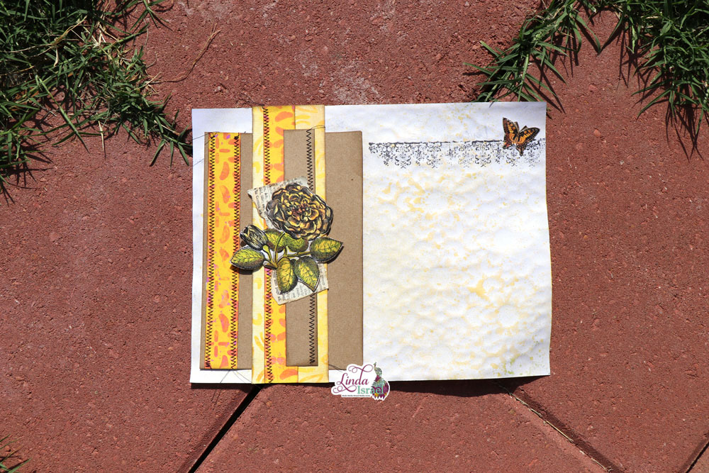 Scrapy Belly Band and Junk Journal Page Tutorial