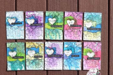Scrapy Mixed Media Journal Card Tutorial