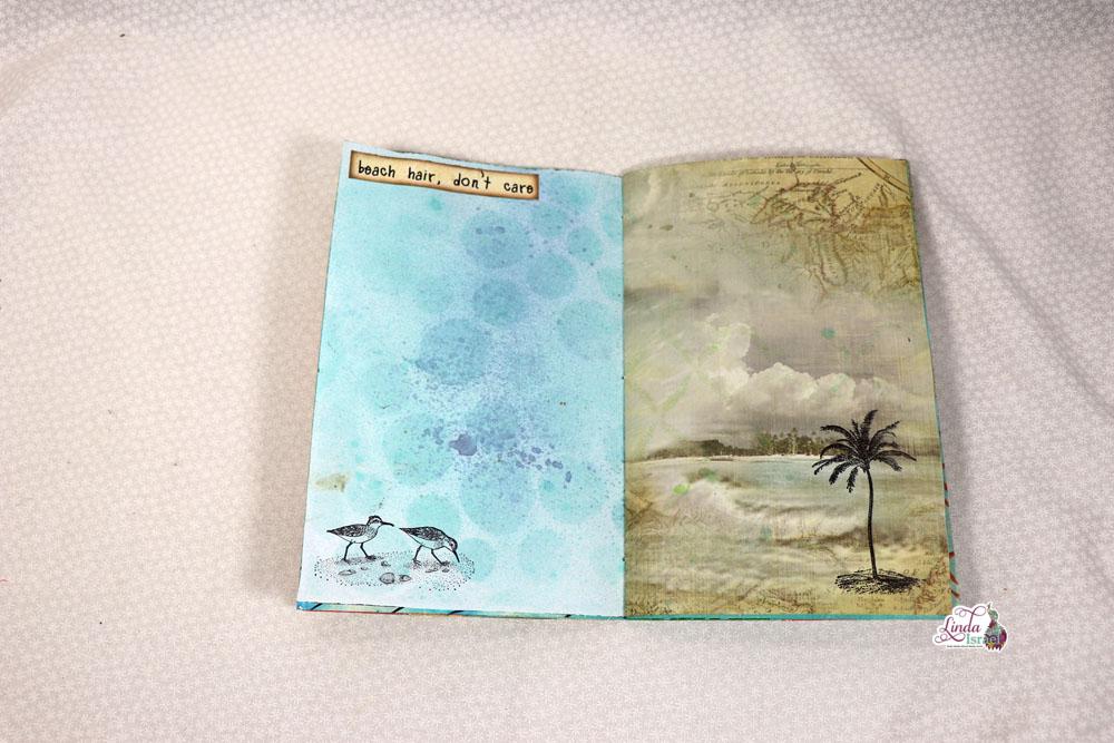 Sea Breeze Junk Journal Flip Through
