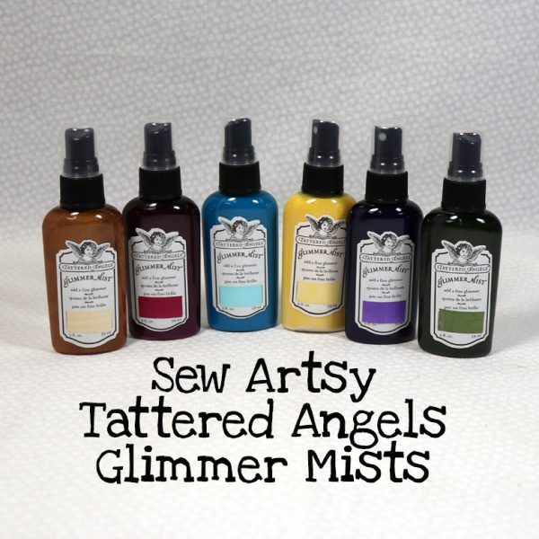 Sew Artsy Tattered Angels Glimmer Mists