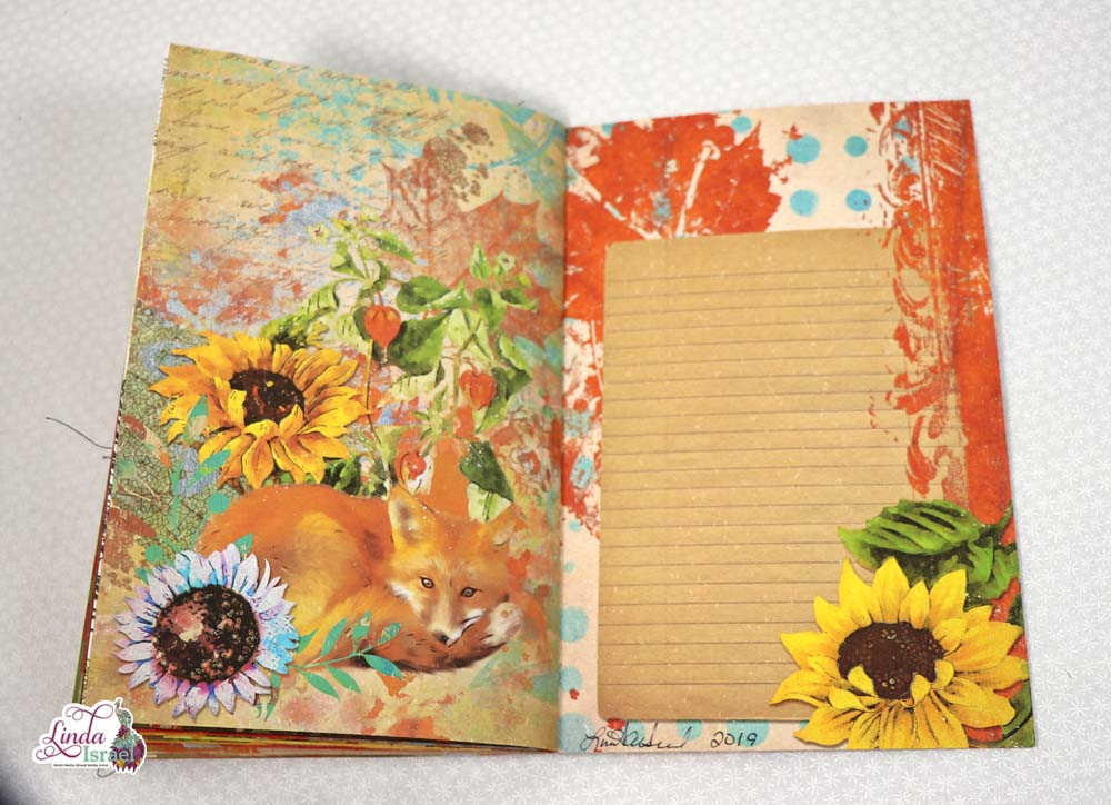 Autumn Breeze Junk Journal Flip Through