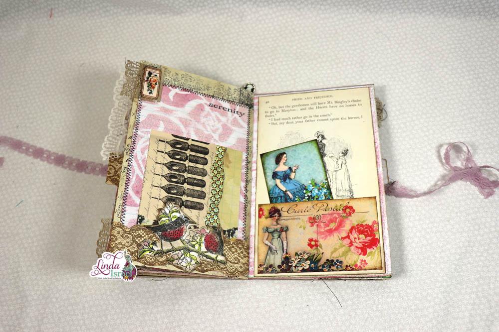 Flip Through of Jane Austen Junk Journal
