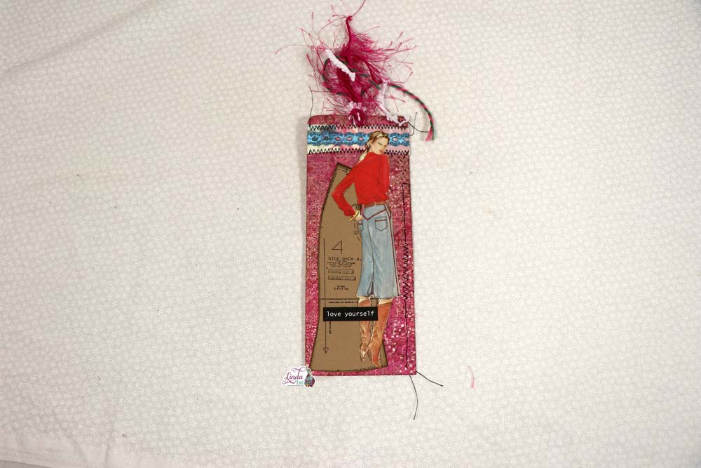 Sewing Themed Tag Tutorial