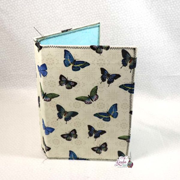 Butterflies on Ivory Midori Style Cover