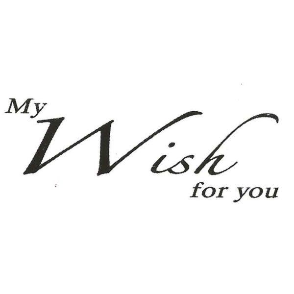 CHF207C My Wish Rubber Stamp