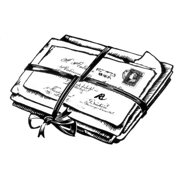 CHF225D Bundle of Memories Rubber Stamp