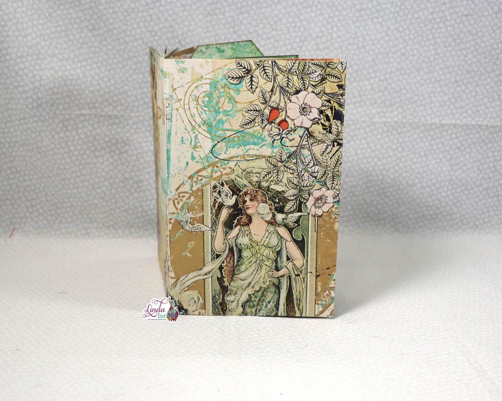 Flip Through of Nouveau Fantasy Junk Journal