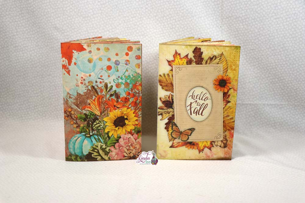 Flip Through of Two Autumn Junk Journals